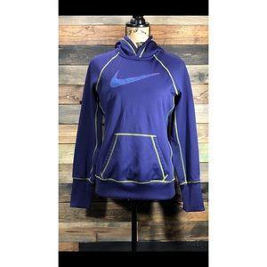 Nike Medium Hoodie Therma-Fit Sweatshirt Purple